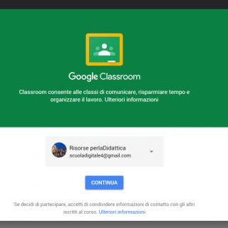App di Classroom