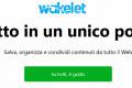 Wakelet - Strumento per il portfolio